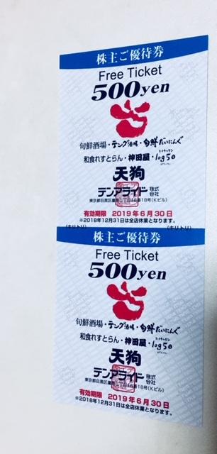 【テンアライド(天狗)の株主優待】買取価格、大黒屋で査定した結果を公開