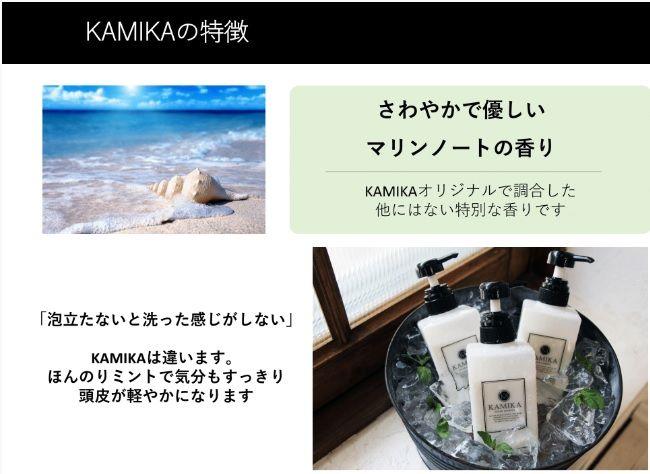 カミカ(KAMIKA)シャンプー